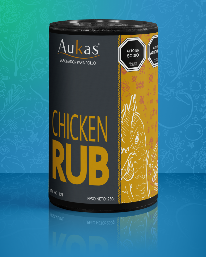 Chicken Rub Tubo